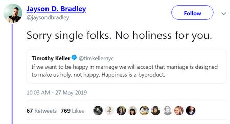 no holiness